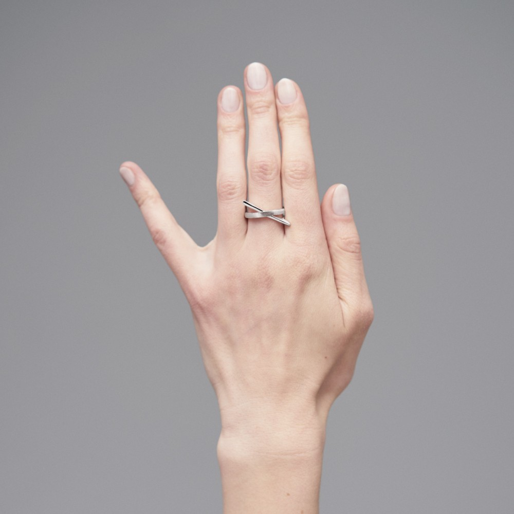 Itumm - sidabro žiedas