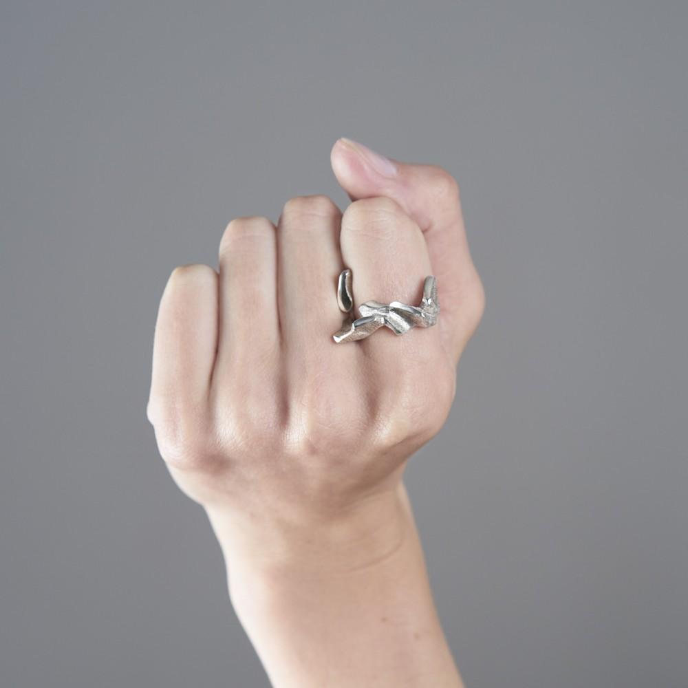 Oliisa - sidabro žiedas