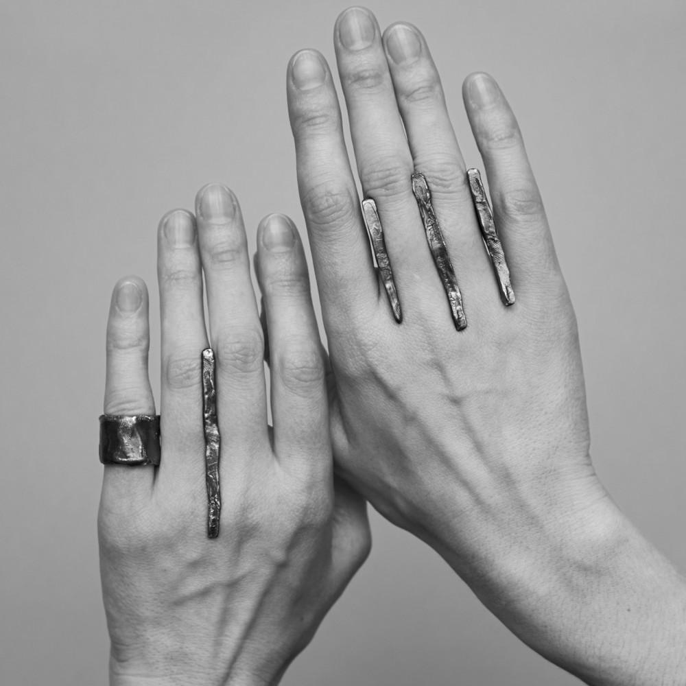 Situmm - oksiduoto sidabro žiedas