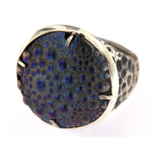 Žiedas ,,Mėlyna planeta''