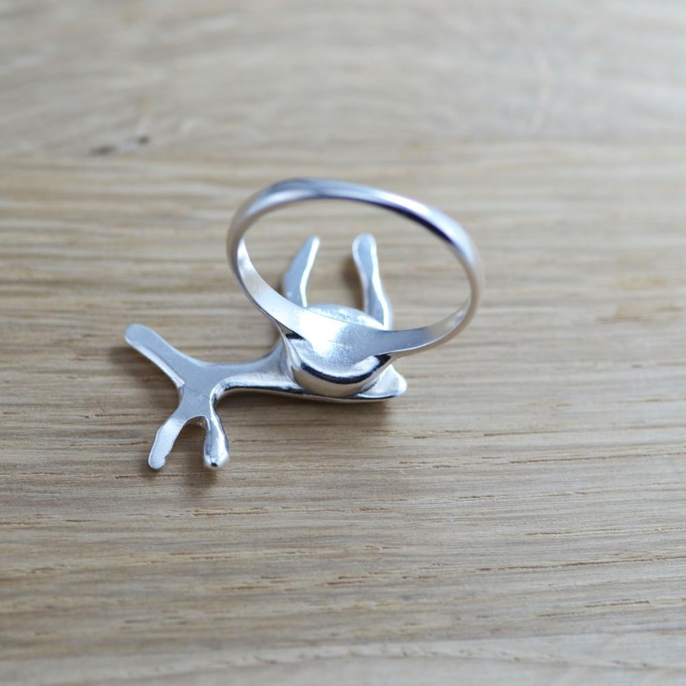 Žiedas ,,Elniukas Rudolfas'' (Sidabras 925)