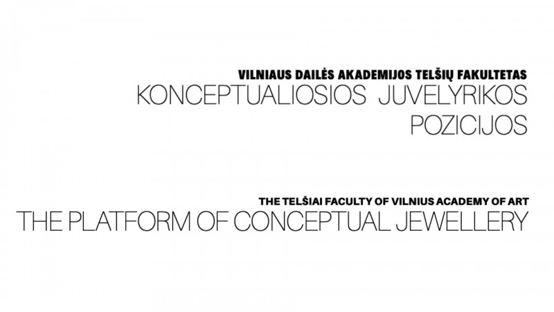 "Digital catalogue ""The platform of conceptual jewellery"""