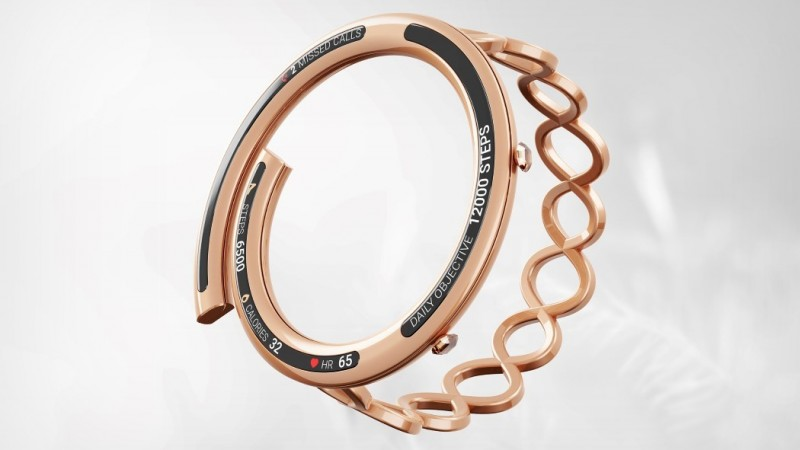 THE ESIVA BRIDGES SMARTWATCHES WITH JEWELRY TO MAKE WEARABLES FASHIONABLE